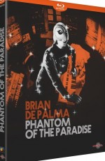 Jaquette Phantom of the Paradise (Bluray)