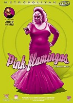 Jaquette Pink Flamingos EPUISE/OUT OF PRINT