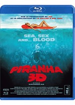 Jaquette Piranha 3D (Version 3-D)