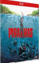 Jaquette Piranhas (dition collector limit - Botier mtal