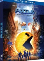 Jaquette Pixels (Combo Blu-ray + DVD + Copie digitale)