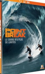 Jaquette Point Break  [Combo Blu-ray 3D + Blu-ray + DVD - Édition boîtier SteelBook]