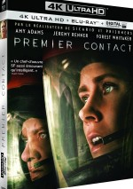 Jaquette Premier contact [4K Ultra HD + Blu-ray + Copie Digitale UltraViolet]