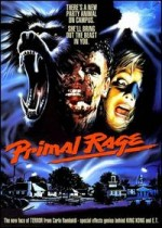 Jaquette Primal Rage EPUISE/OUT OF PRINT