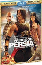 Jaquette Prince of Persia : les sables du temps (Édition Blu-ray + DVD + Copie digitale)