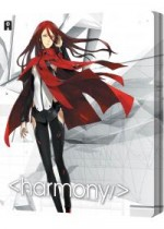 Jaquette Project Itoh : <Harmony/> (Combo Blu-ray + DVD - Édition Collector boîtier SteelBook)