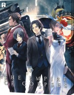Jaquette Project Itoh : The Empire of Corpses (Combo Collector Blu-ray + DVD boîtier SteelBook)