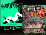 Jaquette Promo L'Attaque des Cannibales + Surfer Killer EPUISE/OUT OF PRINT