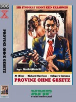 Jaquette Provinz Ohne Gesetz (Cover B - Gros Hardbox - �dition limit�e)