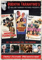 Jaquette Quentin Tarantino's Rolling Thunder Pictures Triple Feature
