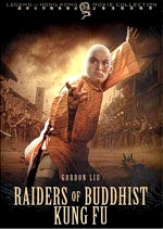 Jaquette RAIDERS OF BUDDHIST KUNG FU