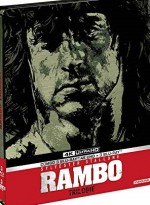 Jaquette Rambo - La trilogie [4K Ultra HD + Blu-ray - Édition boîtier SteelBook]  EPUISE/OUT OF PRINT