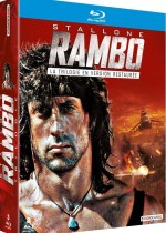 Jaquette Rambo Trilogy - Version Restaurée