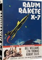 Jaquette Raumrakete X-7 - Cover B