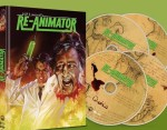 Jaquette Re-Animator - 2 Blu-ray + 2 DVD - Edition Limitée EPUISEE/OUT OF PRINT