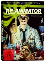 Jaquette Re-Animator EPUISE/OUT OF PRINT