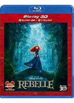 Jaquette Rebelle (Combo Blu-ray 3D + Blu-ray)