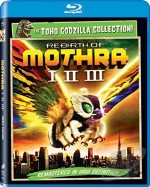 Jaquette Rebirth of Mothra I, II, III