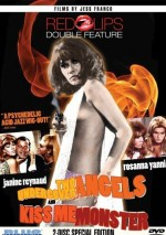 Jaquette Red Lips Double Feature: Two Undercover Angels / Kiss Me, Monster