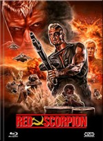 Jaquette  Red Scorpion (DVD + BLURAY) - Cover A