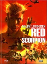 Jaquette  Red Scorpion (DVD + BLURAY) - Cover B