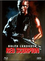 Jaquette  Red Scorpion (DVD + BLURAY) - Cover C