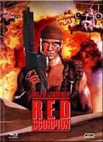 Jaquette  Red Scorpion (DVD + BLURAY) - Cover F