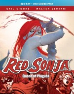 Jaquette Red Sonja: Queen Of Plagues