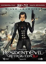 Jaquette Resident Evil: Retribution - Blu-ray 3D