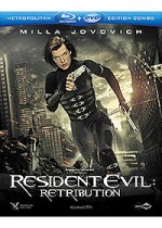Jaquette Resident Evil: Retribution (Combo Blu-ray + DVD)
