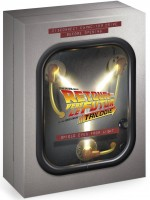 Jaquette Retour vers le futur - Trilogie (Collector Flux Capacitor - Blu-ray + DVD + Copie digitale + Goodies)