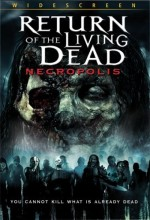 Jaquette Return of the Living Dead 4: Necropolis