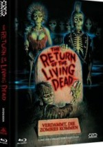 Jaquette Return of the Living Dead (Blu-Ray / DVD) - Cover A  - Limited 999 Edition