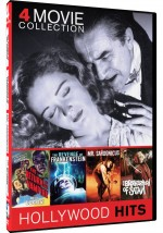 Jaquette Return Of The Vampire/Revenge Of Frankenstein/Mr Sardonicus/Brotherhood Of Satan