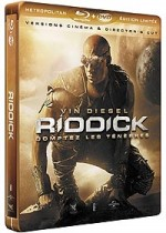 Jaquette Riddick (Combo Blu-ray + DVD - �dition Limit�e bo�tier SteelBook)