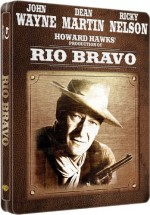 Jaquette Rio Bravo (Blu-ray + Copie digitale - �dition bo�tier SteelBook)