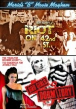 Jaquette Riot on 42nd St / Bad Girls Dormitory EPUISE/OUT OF PRINT