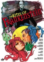 Jaquette Rites of Frankenstein EPUISE/OUT OF PRINT