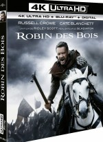 Jaquette Robin des Bois - 4K Ultra HD + Blu-ray + Digital