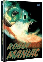 Jaquette Robot Maniac (Blu-Ray+DVD) - Cover A