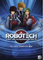 Jaquette Robotech: The Macross Saga