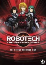 Jaquette Robotech: The Masters Saga