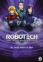Jaquette Robotech: The New Generation