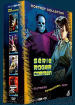 Jaquette Roger Corman - 7 films (Coffret 4 DVD - Edition Collector)