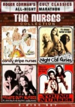 Jaquette Roger Corman Cult Classics All-Night Marathon: The Nurses Collection DVD