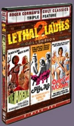 Jaquette Roger Corman's Cult Classic's : Lethal Ladies 2