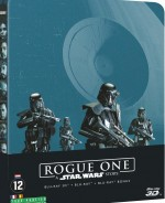 Jaquette Rogue One : A Star Wars Story [Steelbook Blu-ray 3D]