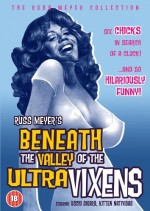 Jaquette Russ Meyer's Beneath The Valley of The Ultravixens EPUISE/OUT OF PRINT