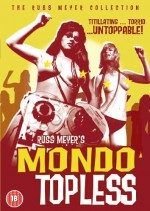 Jaquette Russ Meyer's Mondo Topless EPUISE/OUT OF PRINT