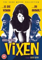 Jaquette Russ Meyer's Vixen EPUISE/OUT OF PRINT
